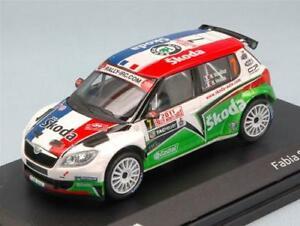 【送料無料】模型車 スポーツカー シュコダファビアラリーモンテカルロモデルskoda fabia s2000 n 7 8th rally montecarlo 2011 abrex 143 ab604tf model