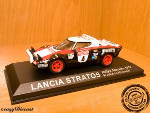 【送料無料】模型車 スポーツカー lancia stratos 143 kivimakialen rally sanremo19784lancia stratos 143 kivimakialen rally sanremo 1978 4