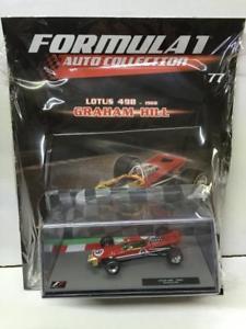 【送料無料】模型車 スポーツカー フォーミュラロータスグラハムヒル143 formula 1 f1 auto collection n 77 lotus 49b graham hill 1968 sealed
