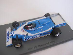 【送料無料】模型車 スポーツカー ジャックラフィモナコスパークグランプリ1978 ligier js9 jacques laffite monaco grand prix by spark