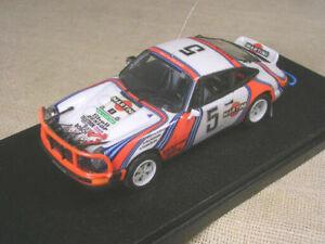 【送料無料】模型車 スポーツカー ポルシェマティーニサファリラリーporsche 911 sc martini safari rally 1978 waldegaard robustelli 143 true