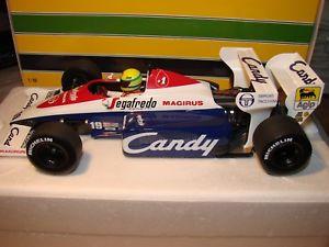 【送料無料】模型車 スポーツカー キャンディハートtgアイルトンセナ118 toleman candy hart tg184, ayrton senna