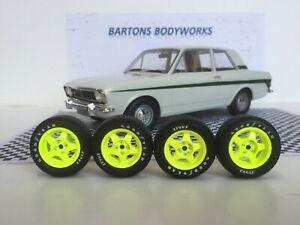 【送料無料】模型車 スポーツカー 118 5spokemk2エスコートvw bmw rsニューmodified118 5spoke wheels mk2 escort vw bmw rs rally  modified
