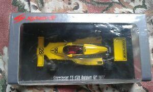 【送料無料】模型車 スポーツカー フィッティパルディベルギーフォードエメルソンスパークcopersucar fittipaldi f5 belgium gp 1977 143 rare f1 ford emerson spark