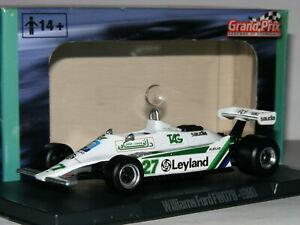 【送料無料】模型車 スポーツカー アトラスグランプリウィリアムズフォードアランジョーンズatlas grand prix williams ford fw07b 1980 alan jones 143