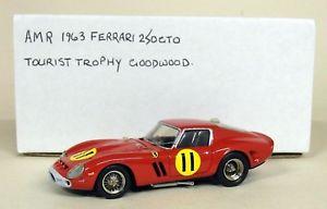 【送料無料】模型車 スポーツカー ノスタルジアスケールフェラーリグッドウッドモデルカーamr nostalgia one 143 scale ferrari 250 gto goodwood tt white metal model car