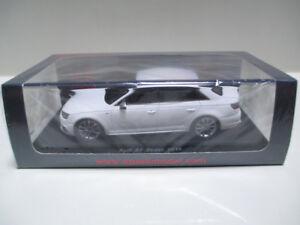 【送料無料】模型車 スポーツカー ミントスパークアウディセダンミニカーmint 1 43 spark audi s4 sedan 2016 minicar white