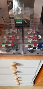 【送料無料】模型車 スポーツカー f111439f1 formula 1 car collection 143 scale job lot 9 cars