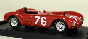 【送料無料】模型車 スポーツカー brumm 143s033ランチアd24 38a targaフロリオ1954ダイカストモデルカーbrumm 143 scale s033 lancia d24 38a targa florio 1954 diecast model car