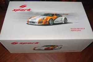 【送料無料】模型車 スポーツカー spark 118porsche 997gt3 r hybrid2010spark 118 porsche 997 gt3 r hybrid 2010