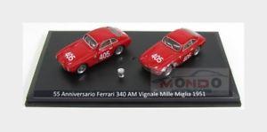 【送料無料】模型車 スポーツカー フェラーリ340アメリカvignaleミルミグリアセット1951モデル143 jl9001ferrari set 340 america vignale winner mille miglia 1951 jolly model 143 jl90