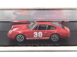 【送料無料】模型車 スポーツカー ワウポルシェ#クラスグランプリムジェロwow extremely rare porsche 911 1967 30 class winner gp mugello resin 143 spark
