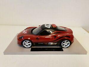 【送料無料】模型車 スポーツカー トップマルケスアルファロメオペースカースケールモデルトップtop marques wtcc alfa romeo 4c pace car 118 scale resin model top11