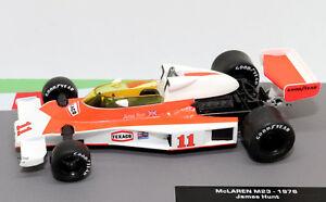 【送料無料】模型車 スポーツカー f1マクラーレンm231976ジェームズハント143 f1モデルformula 1 car collection mclaren m23 1976 james hunt 143 f1 model