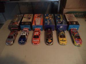 【送料無料】模型車 スポーツカー デイルアーンハートウィンストンレースロットシャーロットスピードウェイ124 dale earnhardt winston allstar races 6 car lot at charlotte speedway