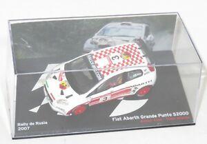 【送料無料】模型車 スポーツカー フィアットグランデプントアバルトラリーロシア143 fiat grande punto abarth s2000 irc rally russia 2007 aalen