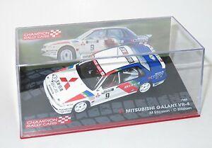 【送料無料】模型車 スポーツカー ギャランラリーフィンランドエリクソン143 mitsubishi galant vr4 1000 lakes rally finland 1989 mericsson