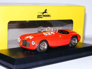 【送料無料】模型車 スポーツカー アートモデルアートフェラーリバルケッタミッレミリア#art model art008 ferrari 166 mm barchetta 1949 mille miglia 624 143