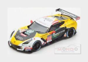 【送料無料】模型車 スポーツカー シボレーコルベット#ルマンスパークモデルchevrolet corvette c7r larbre 50 lmgte am le mans 2015 spark 118 18s202 model