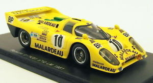 【送料無料】模型車 スポーツカー スパークスケールモデルカーポルシェk#ルマンspark 143 scale model car s0917 porsche 917k81 10 le mans 1981