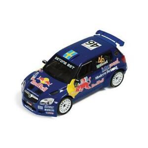 模型車 スポーツカー スコーダfabia s200046 13thノルウェー2009axelssonsandell 143 ixo ram358モデルskoda fabia s2000 46 13th norway 2009 axelssonsandell 143