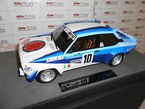【送料無料】模型車 スポーツカー トップ131 abarthモンテカルロtop043c1198010 118top043c by top marques fiat 131 abarth monte carlo 1st 1980 10 118