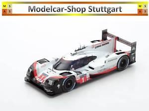 【送料無料】模型車 スポーツカー ポルシェハイブリッド919 1 ポルシェlmpチームle2017スパーク118 18s320porsche hybrid 919 1 porsche lmp team le mans 2017 spark 118 18s320