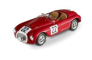 【送料無料】模型車 スポーツカー マテルホットホイールフェラーリ#ルマンカーmattel hot wheels p9940 ferrari 166 mm 143rd, red 22 le mans car
