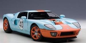 【送料無料】模型車 スポーツカー フォードモデルford gt 2004 n40 autoart 118 aa80513 model
