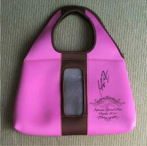 【送料無料】模型車 スポーツカー ミハエルシューマッハサインバッグmichael schumacher autographed bag