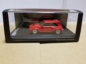 【送料無料】模型車 スポーツカー head liner renault 5maxi turbo red hl0822143head liner renault 5 maxi turbo red hl0822 143