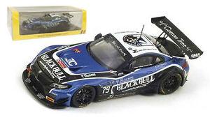 【送料無料】模型車 スポーツカー スパーク#リアスパスケールspark sb102 bmw z4 79 2nd pam ecurie ecosse 24h spa 2014 143 scale
