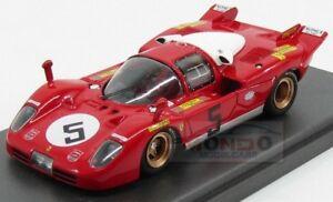 【送料無料】模型車 スポーツカー フェラーリロッソキロモンツァモデルferrari 512s berlinetta picchio rosso 1000km monza 1970 mg model 143 mg512s49