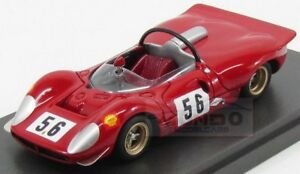 【送料無料】模型車 スポーツカー フェラーリクモ#レースモデルferrari 412p spider 56 wursturf race 1969 piper hermann mg model 143 mg43076b