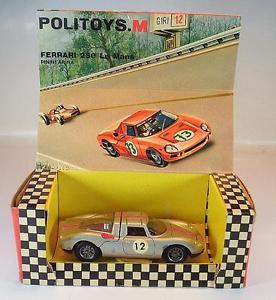 【送料無料】模型車 スポーツカー フェラーリルマンプレゼンテーションボックスpolitoys m 143 no 525 ferrari 250 le mans pininfarina i presentation box 5362