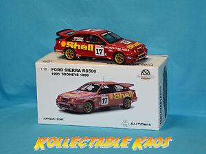 【送料無料】模型車 スポーツカー 118 bianteディックジョンソンジョンbowe フォードrs500 1991tooheys 1000