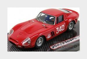 【送料無料】模型車 スポーツカー フェラーリクーペ#ferrari 250 gto coupe 340 trapanimonte erice 1965 f latteri mg 143 gto43086 m