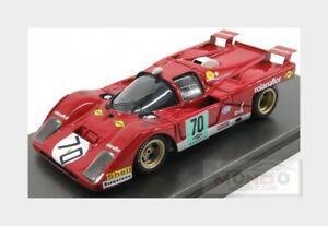 【送料無料】模型車 スポーツカー フェラーリ512mサノコ701971ミュラーmgモデル143 512m04モデルnorisringferrari 512m sunoco 70 norisring 1971 muller red mg model 143 512m04 mode