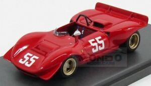 【送料無料】模型車 スポーツカー フェラーリクモ#モントモデルferrari 212e spider 55 mont ventoux 1969 p schetty red mg model 143 mg43081b m
