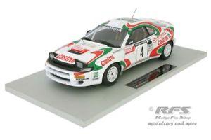 【送料無料】模型車 スポーツカー トヨタcelica turbo 4wdラリーフィンランド1993kankkunen 118トップ034dtoyota celica turbo 4wd rally finland 1993 kankkunen 118 top marques