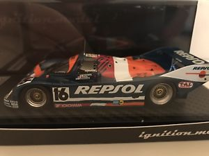 【送料無料】模型車 スポーツカー ポルシェ#ルマンレプソルporsche 962 c 16 le mans 1990 repsol brunignition 143 0528