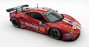 【送料無料】模型車 スポーツカー フェラーリ458イタリアgt2 45l v8チームtaisanルマン2014bbr 143 bbrc155ferrari 458 italia gt2 45l v8 team taisan le mans 2014 nakano bbr 143