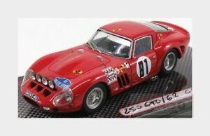 【送料無料】模型車 スポーツカー フェラーリ250 gto coupeバージョン81ラリーヘローナ1967 mgモデル143 gto43083ferrari 250 gto coupe night version 81 rally gerona 1967 mg model 14