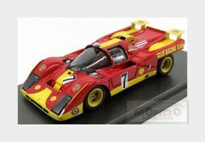 【送料無料】模型車 スポーツカー フェラーリチームレーシング#キロパリロースmferrari 512m team gelo racing 7 1000km paris 1971 loos pesch mg 143 512m21 mo