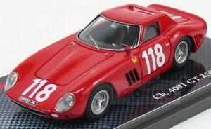 【送料無料】模型車 スポーツカー フェラーリクーペ#タルガフローリオモデルferrari 250 gto coupe 118 targa florio 1965 ravetto mg model 143 mggto 43032 mo