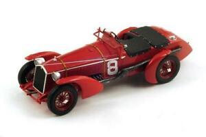 【送料無料】模型車 スポーツカー アルファロメオマースパークモデルalfa romeo 8c n8 winner lm 1932 r sommerl chinetti 118 spark s18lm32 model