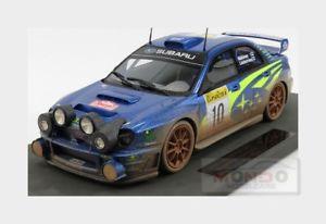 【送料無料】模型車 スポーツカー スバルimpreza s4 wrc10ラリーmontecarlo2002topmarques 118 top037cdsubaru impreza s4 wrc 10 winner rally montecarlo 2002 topmarque