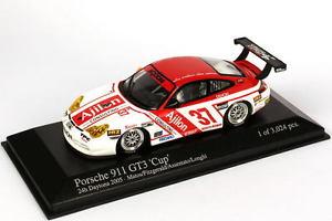 【送料無料】模型車 スポーツカー ポルシェグアテマラデイトナロンギ143 porsche 911 gt3 24 h daytona 2005 ajilon nr37 fitzgerald assentato longhi