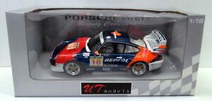 【送料無料】模型車 スポーツカー モデルポルシェオルレアンレプソルut models 118 39632 porsche 911 gt2 1996 993 a de orleans saldana repsol
