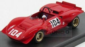 【送料無料】模型車 スポーツカー フェラーリクモ#モデルファッションferrari 212e spider 104 montseny 1969 p schetty red mg model 143 mg43081a fashion